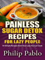 Painless Sugar Detox Recipes for Lazy People