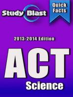 Study Blast ACT Science Prep