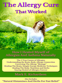 The Allergy Cure That Worked
