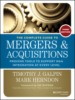 The Complete Guide to Mergers and Acquisitions