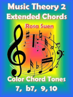 Music Theory 2 - Extended Chords - Color Chord Tones - 7, b7, 9, 10: Learn Piano With Rosa