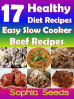 17 Healthy Diet Recipes - Easy Slow Cooker Beef Recipes: Go Slow Cooker Recipes