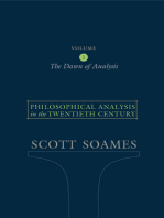 Philosophical Analysis in the Twentieth Century, Volume 1