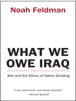 What We Owe Iraq