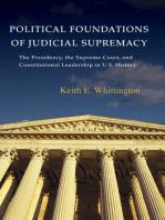 Political Foundations of Judicial Supremacy