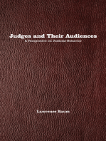 Judges and Their Audiences