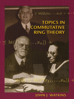 Topics in Commutative Ring Theory