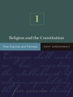 Religion and the Constitution, Volume 1