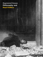 Philosophy and Real Politics