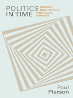 Politics in Time: History, Institutions, and Social Analysis