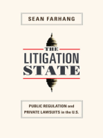 The Litigation State: Public Regulation and Private Lawsuits in the U.S.