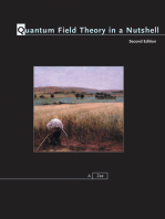 Quantum Field Theory in a Nutshell