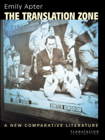 The Translation Zone: A New Comparative Literature
