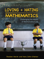 Loving and Hating Mathematics
