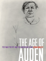The Age of Auden