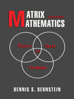 Matrix Mathematics