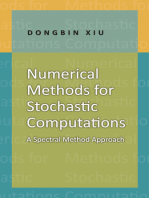 Numerical Methods for Stochastic Computations