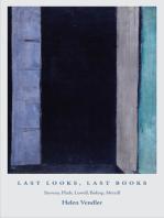 Last Looks, Last Books