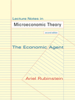 lecture notes in microeconomic theory by ariel rubinstein by ariel rh scribd com