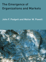 The Emergence of Organizations and Markets