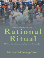Rational Ritual: Culture, Coordination, and Common Knowledge