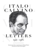 Italo Calvino: Letters, 1941-1985 - Updated Edition