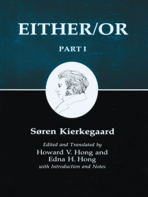 Kierkegaard's Writing, III, Part I: Either/Or