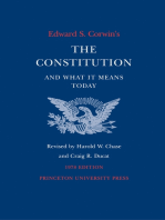 Edward S. Corwin's Constitution and What It Means Today