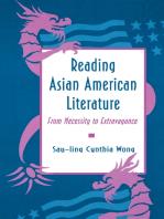 Reading Asian American Literature