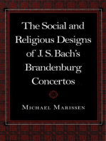 The Social and Religious Designs of J. S. Bach's Brandenburg Concertos
