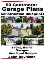 50 Contractor Garage Plans Construction Blueprints