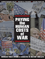 Paying the Human Costs of War
