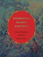 Knowledge, Reason, and Taste