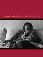 Notes on Sontag
