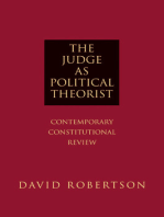 The Judge as Political Theorist
