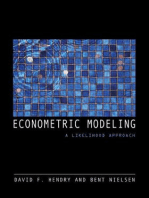 Econometric Modeling