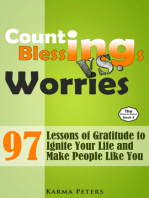 Counting Blessings vs. Worries