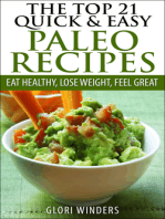 The Top 21 Quick & Easy Paleo Recipes