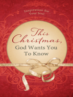 This Christmas, God Wants You to Know. . .