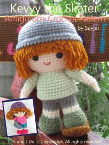 Kevvy the Skater Amigurumi Crochet Pattern
