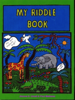 MY RIDDLE BOOK. 170 all-time riddles & jokes.