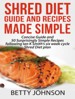 Shred Diet Guide And Recipes Made Simple