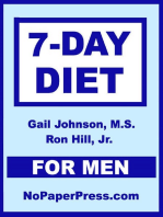 7-Day Diet for Men