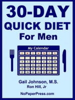 30-Day Diet for Men