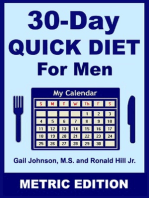 30-Day Diet for Men - Metric Edition