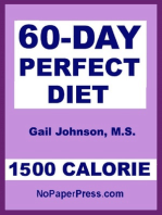 60-Day Perfect - 1500 Calorie