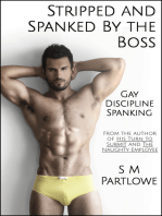 Stripped and Spanked by The Boss (Gay, Discipline, Spanking)