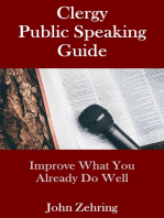 Clergy Public Speaking Guide