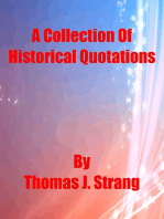 A Collection of Historical Quotations