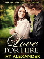 Love For Hire (The Helena's Grove Series, #2)